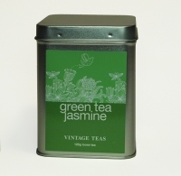 Vintage Teas Loose leaf tea Green with jasmine GP1 125g